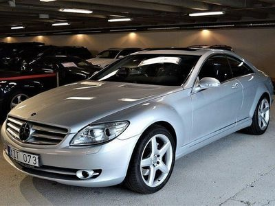 "begagnad Mercedes 500 CL Benz7G-Tronic ""Perfekt 2007, Sportkupé 199 900 kr"
