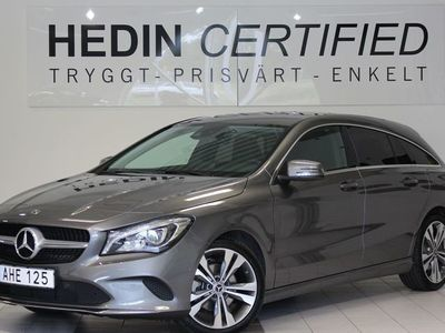 begagnad Mercedes CLA220 Shooting Brake 220 d 4-Matic Navi Dragkrok