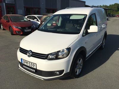 gebraucht VW Caddy Cross 2,0 140Hk 4-motion Aut