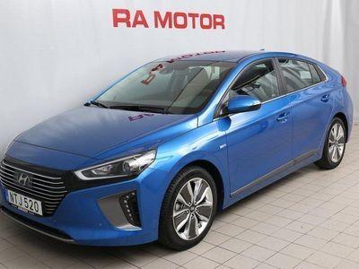 begagnad Hyundai Ioniq Hybrid PremiumPlus Eco Automat