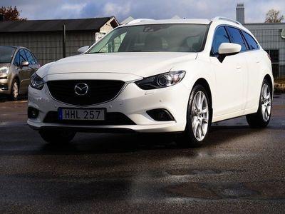 begagnad Mazda 6 Wagon 2.2DE 175hk Optimum BOSE