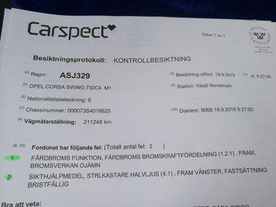begagnad Opel Corsa 94 -94