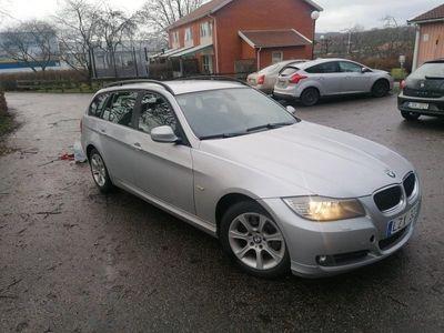 begagnad BMW 318 d automat ev byte