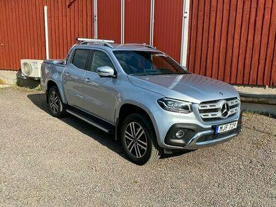 begagnad Mercedes X250 X Benzd 4MATIC 7G-Tronic Pluspaket Euro6 2018, Pickup Pris 369 000 kr