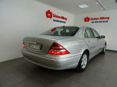 begagnad Mercedes S320 Auto 224HK 18500Mil LYXBIL NYBESIKTIGAD