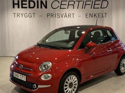 begagnad Fiat 500 LOUNGE 1,2 69HK P - SENS NY SERVAD VÄRMARE
