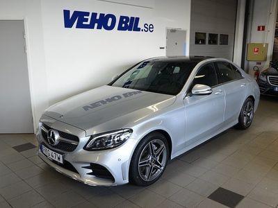 begagnad Mercedes C220 d AMG Line, COMANd Online, Backkamera, Panorama