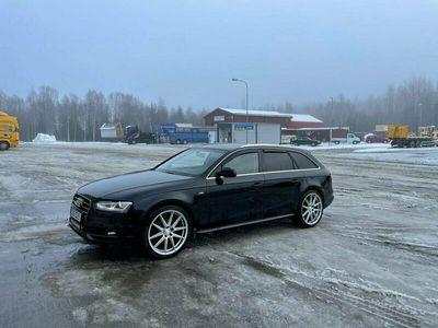 begagnad Audi A4 TDI quattro S-line