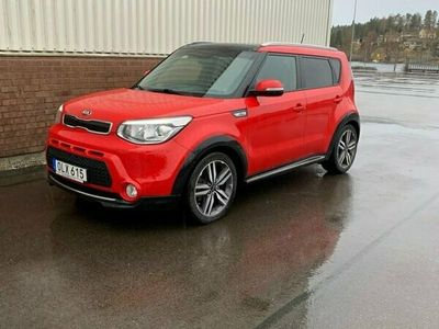 begagnad Kia Soul SOUL 1,6 LAUNCH EDIT