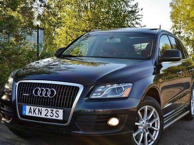 begagnad Audi Q5 2,0TFSI Quattro S-Tronic Panorama Skinn