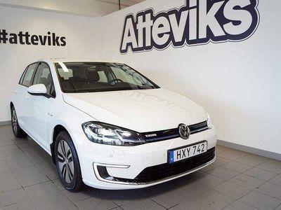 begagnad VW e-Golf 35,8 kWh 136hk Pluspaket Na