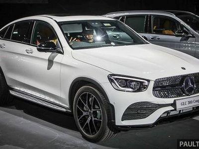 begagnad Mercedes GLC300 d Coupé 4M 9G-Tro 245hk OBS UTRUSTNING