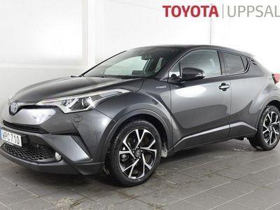 begagnad Toyota C-HR 1,8 Elhybrid X-Edition Skinn JBL -19