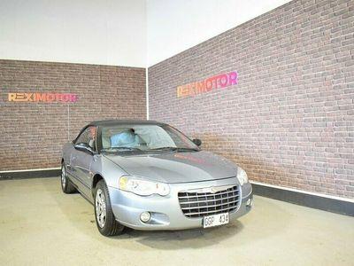begagnad Chrysler Sebring Cabriolet 2.7 V6 Automat 203hk Ny Besiktad