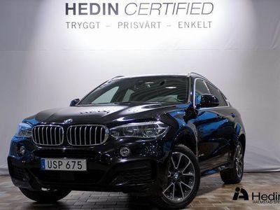 begagnad BMW X6 xDrive 40d // M-SPORT & VINTERHJUL //
