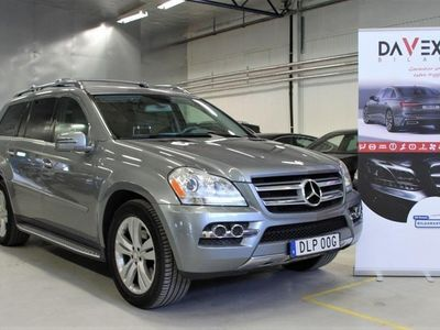 begagnad Mercedes GL350 BlueTEC 4MATIC 7G-Tronic Euro 6 7-sits 211hk