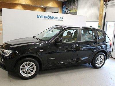 begagnad BMW X3 xDrive20d Steptronic Aut Euro 6 190hk,