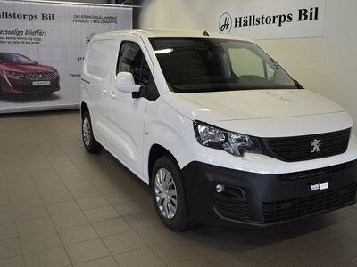 begagnad Peugeot Partner PRO L1 BlueHDi 100HK DRAG VÄR