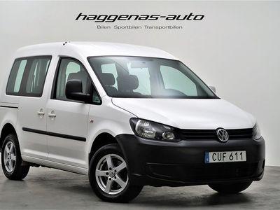 begagnad VW Caddy Life 1.6 TDI / DSG / Drag / Värmare