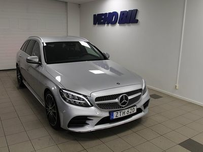 begagnad Mercedes 220 C-KlassKombi AMG Navi Drag