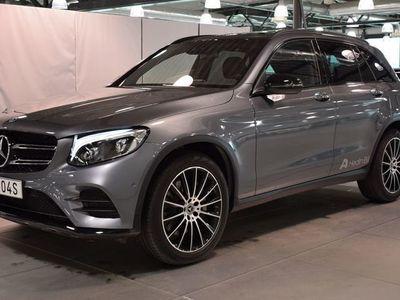 begagnad Mercedes GLC220 D //PARKERINGSVÄRMARE // DRAG INFÄLLBAR // ADAPTIV LJUSBILD
