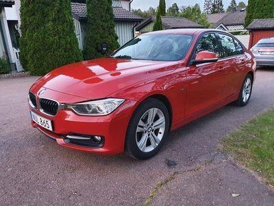 begagnad BMW 320 d sport line 184hk ny bes