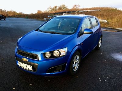 begagnad Chevrolet Aveo 1,2 LT ECO 2013