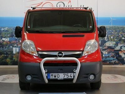 used Opel Vivaro Van 2.0 dCi 115hk -12
