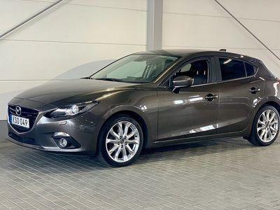 gebraucht Mazda 3 2.0 165 HK, OPTIMUM