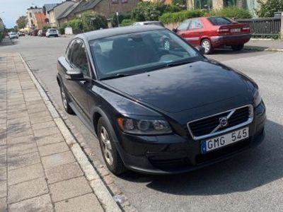 begagnad Volvo C30 Svart nybesiktigad -07
