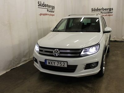 begagnad VW Käfer S TIGUAN 1.4 TSI S&S PREMIUMPAKET, DRAG 2015, SUV 179 500 kr