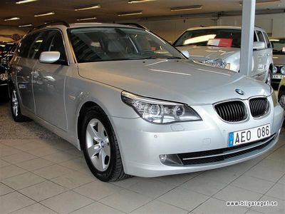 begagnad BMW 520 d Touring Comfort Skinn+Xenon Kombi 2008