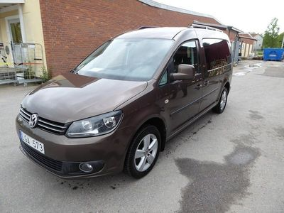 second-hand VW Caddy Maxi Life 2.0 TDI 7-sits 140hk