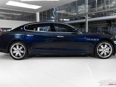 begagnad Maserati Quattroporte GranLusso Ermenegildo Zegna Edition
