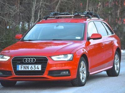 begagnad Audi A4 quattro TDI S-line Eu6