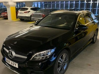 begagnad Mercedes C200 Amg