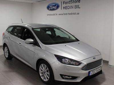 gebraucht Ford Focus Titanium 1.5TDCi 120HK Kombi
