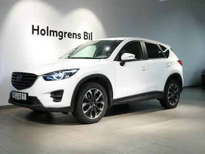 begagnad Mazda CX-5 OPTIMUM 2.2 175 HK AWD INK V-HJUL