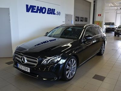 begagnad Mercedes E220 d 9G-Tronic, Apple Car Play, Dragkrok, Navigation, Burme