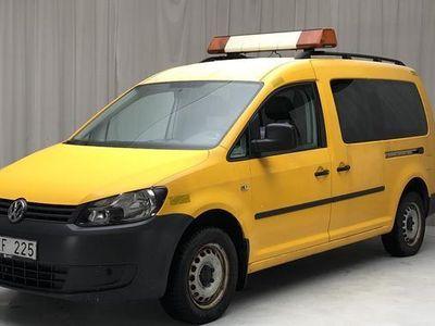begagnad VW Caddy Cross Caddy VW2.0 Ecofuel Maxi Skåp 2012, Transportbil 55 000 kr