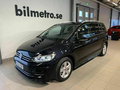 begagnad VW Touran TSI150 /Aut /R-Line /Drag /Värmare /7-Sits