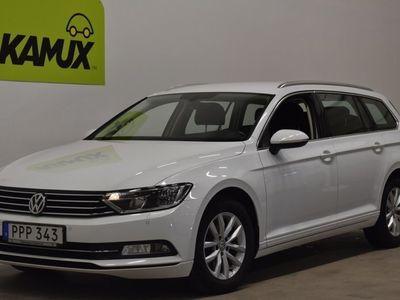 begagnad VW Passat 2.0 TDI Aut D-värm Drag S&V-Hjul (150hk)
