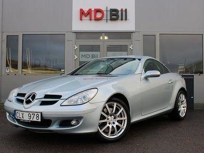 begagnad Mercedes 350 SLK BenzHarman Kardon Navi Fint Skick 2005, Cab 129 800 kr