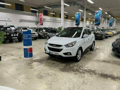 begagnad Hyundai ix35 2.0CRDi 4WD Auto Drag Skinn Panoramatak (184hk)
