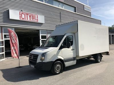 begagnad VW Crafter 35 CHASSI EH 163hk Volymax 18,6M3
