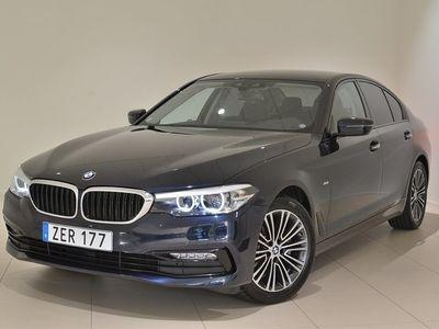 begagnad BMW 520 i Automat Connected Sport Line Drag -18
