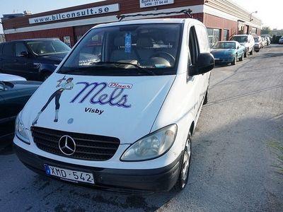 begagnad Mercedes Vito 111 CDI 109hk 3 Sits