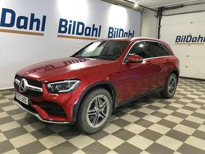 begagnad Mercedes 200 GLCd 4MATIC 9G-Tronic v-hjul dubb