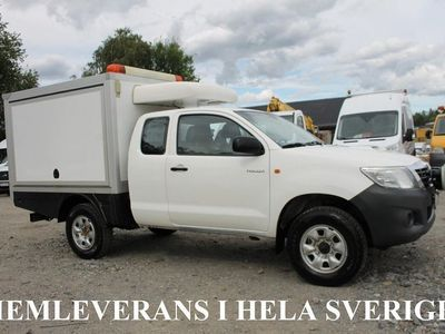 begagnad Toyota HiLux Extra Cab 2.5 4X4 D-M-Värm D-Värm