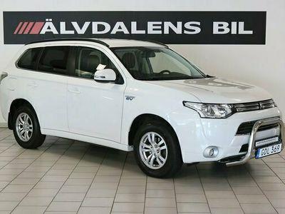 begagnad Mitsubishi Outlander P-HEV 2.0 Hybrid 4WD CVT Aut Drag 2015, SUV Pris 167 000 kr